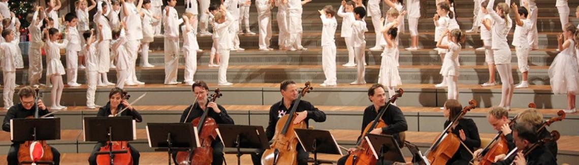 Berliner Philharmoniker - mit Kindern unserer Schule