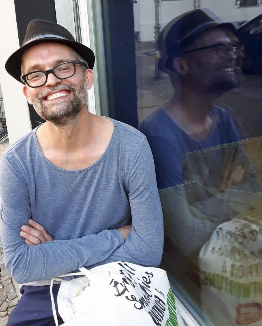 Max Sudhues, Künstler und Lehrer am Campus Hannah Höch