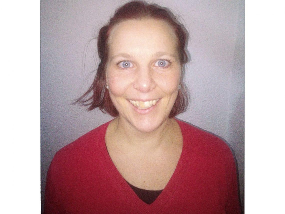 Frau Weinholz-Bolze ist Schulsozialarbeiterin am Campus Hannah Höch
